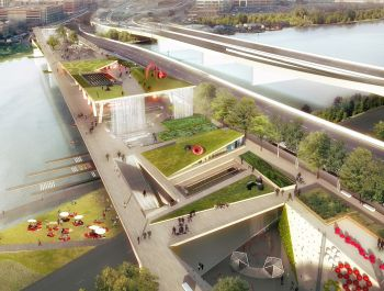D.C.'s 11th Street Bridge Park | OMA + OLIN