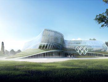 Olympic Headquarters in Lausanne | 3XN