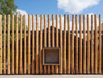 Log-clad Museum | Bornstein Lyckefors