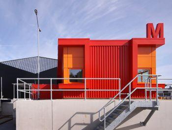 Milieustraat Recycling Centre | Groosman