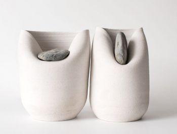 Colera Stone Clay Vase | Martín Azúa