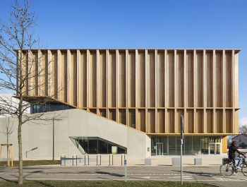 Sports Center in Neudorf | Atelier Zündel Cristea