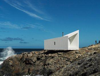 Fogo Island Squish Studio | Saunders