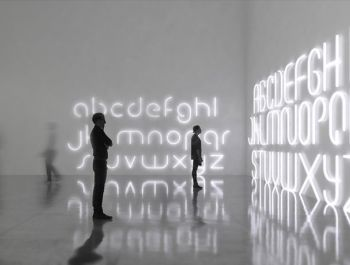 Alphabet Lamps | BIG and Artemide