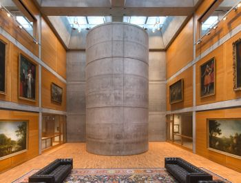 Yale Center for British Art | Louis Kahn-Knight