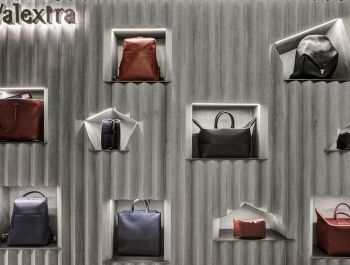 Valextra Concession at Harrods | David Adjaye
