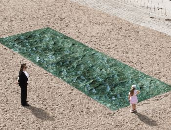 Pool of Marble for French Chateau | Mathieu Lehanneur