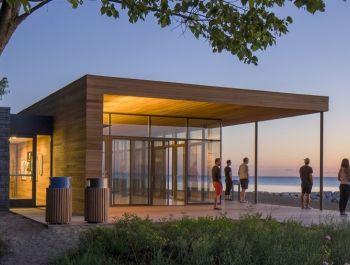 Rosewood Park Pavilion / Woodhouse Tinucci