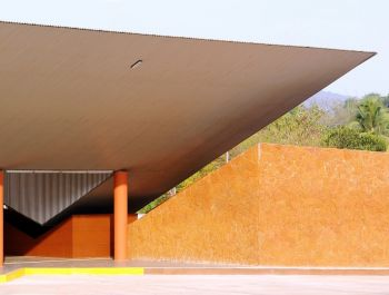 Valpoi Busstand and Community Hall | Rahul Deshpande