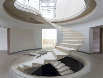 Helical Stair | RAL Architects & Webb Yates Engineers