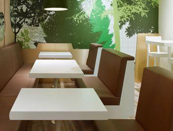 Munich Fast Food Restaurant | Ippolito Fleitz