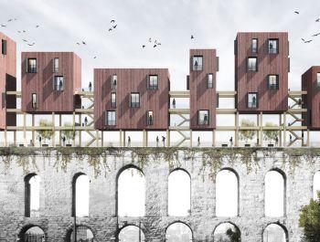 Istanbul Aqueduct Housing | Sinan Günay