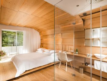 """House of Architects"" Hotel in Vals 