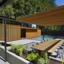 Wooden Pool House | Amantea Architects