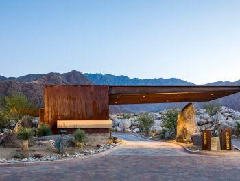 Desert Palisades Guardhouse | Studio AR+D
