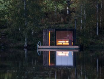 Swedish Lake Sauna | Small Architecture
