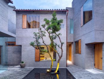 Sunyata Hotel in Dali Old Town | Zhaoyang Architects