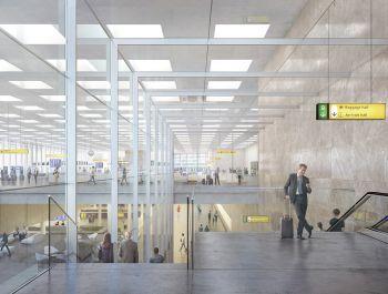 Amsterdam Airport Schiphol Terminal |KAAN Architecten