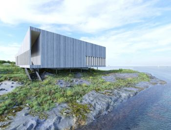 World Heritage Visitor Center | Ekberg Lous Arkitekter
