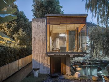 Twin Tea House | Hill Architecture