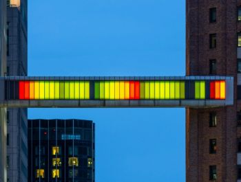 Detroit Skybridge | Phillip K Smith