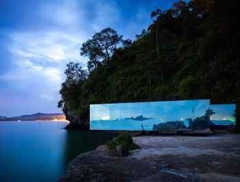 No Sunrise No Sunset Pavilion | Walllasia