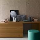Console desk in
