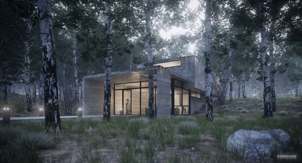 making of house in the forest juan carlos torres