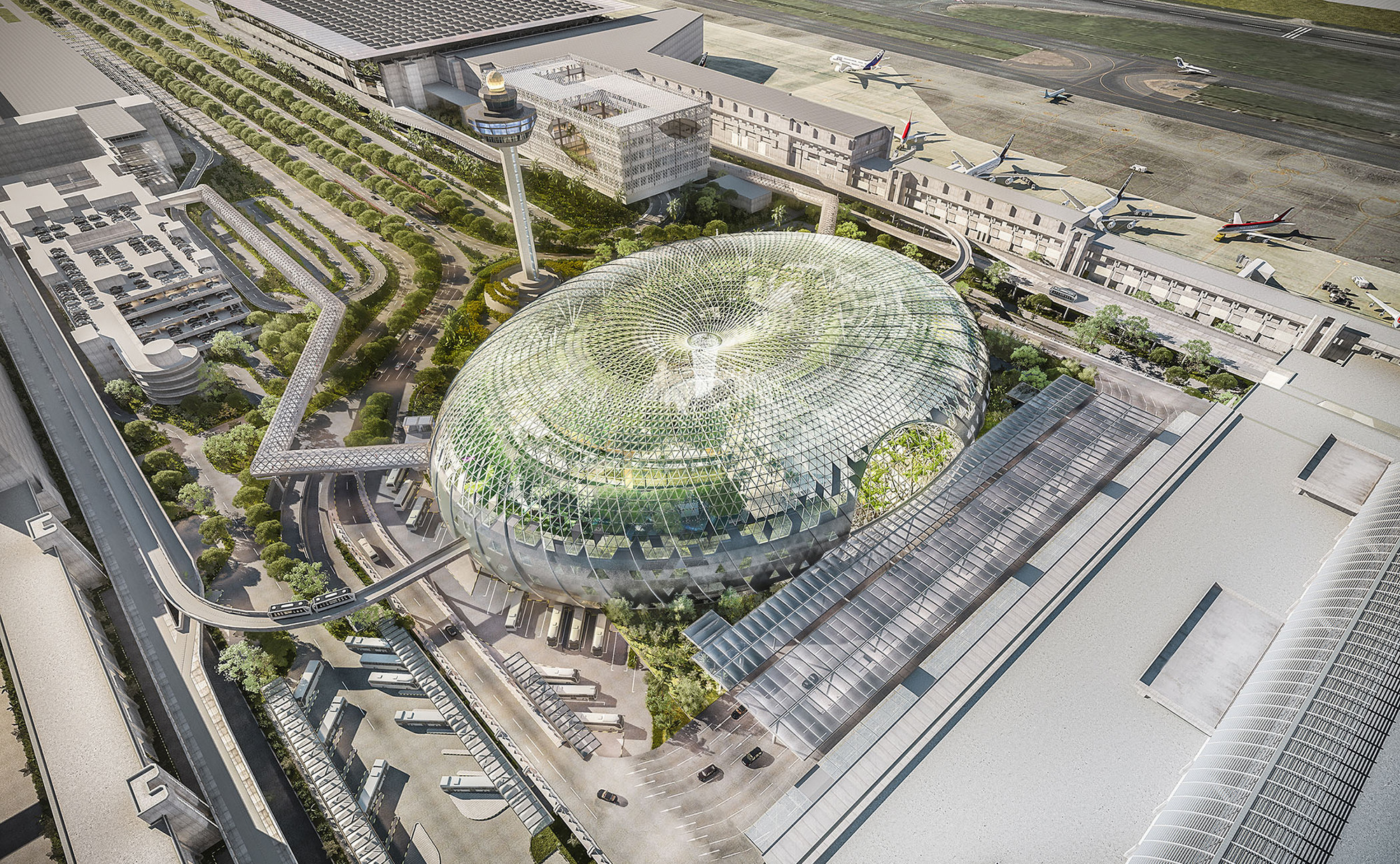 5481daaae58ecef0ed00000e_safdie-architects-design-glass-air-hub-for-singapore-changi-airport_jewel_changi_airport_aerial_view_cp