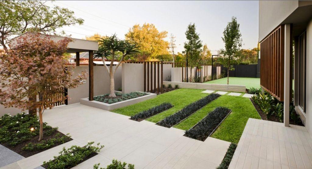 Modern garden moderni for Contemporary gardens