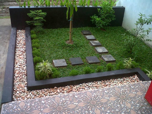 Modern garden moderni for Small garden ideas modern