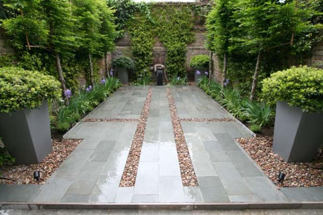 Modern garden moderni for Contemporary garden designs and ideas