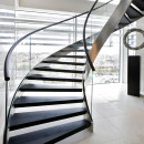 stair-fancy-house-decorating-design-ideas-with-metal-spiral-staircase-along-with-stainless-steel-handrail-killer-curved-staircase-dimensions-as-staircase-decoration