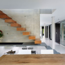 wooden-modern-stair-straight-stair-wall-mount-wooden-tread-varnish-wood-finish-architecture-stairs-architecture-architecture-stairs
