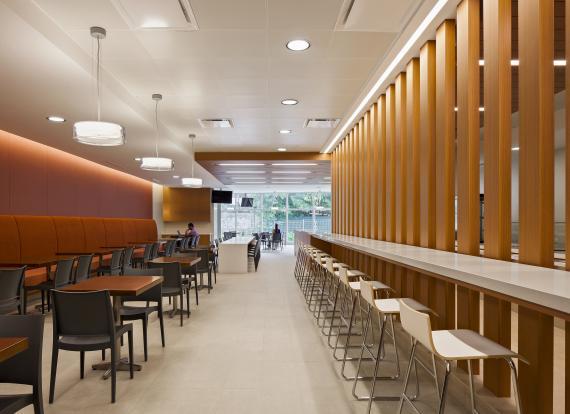 Modern cafe restaurant for A t design decoration co ltd