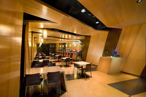 Modern cafe restaurant Restaurant interior design pictures
