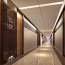 Dark-brown-hotel-corridor-design-rendering