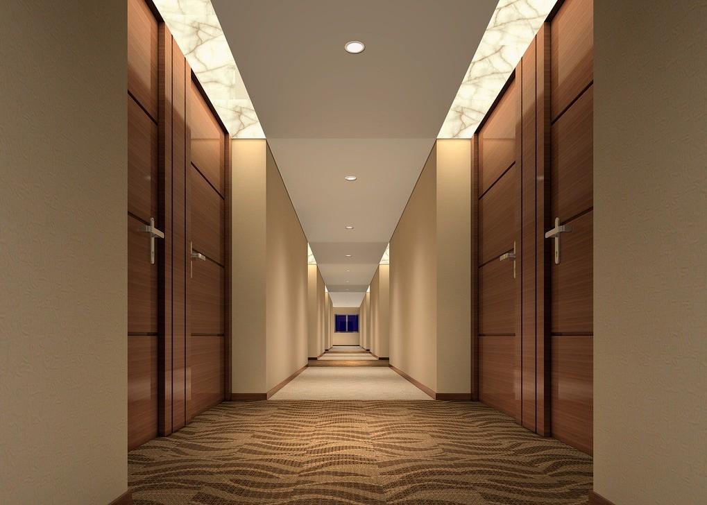 Modern corridor moderni research for Modern house hallway