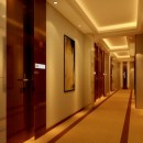 Yellow-minimalist-corridor-of-hotel