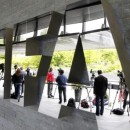 Members of the media stand in front of the FIFA headquarters in Zurich, Switzerland, May 30, 2015.   REUTERS/Arnd Wiegmann