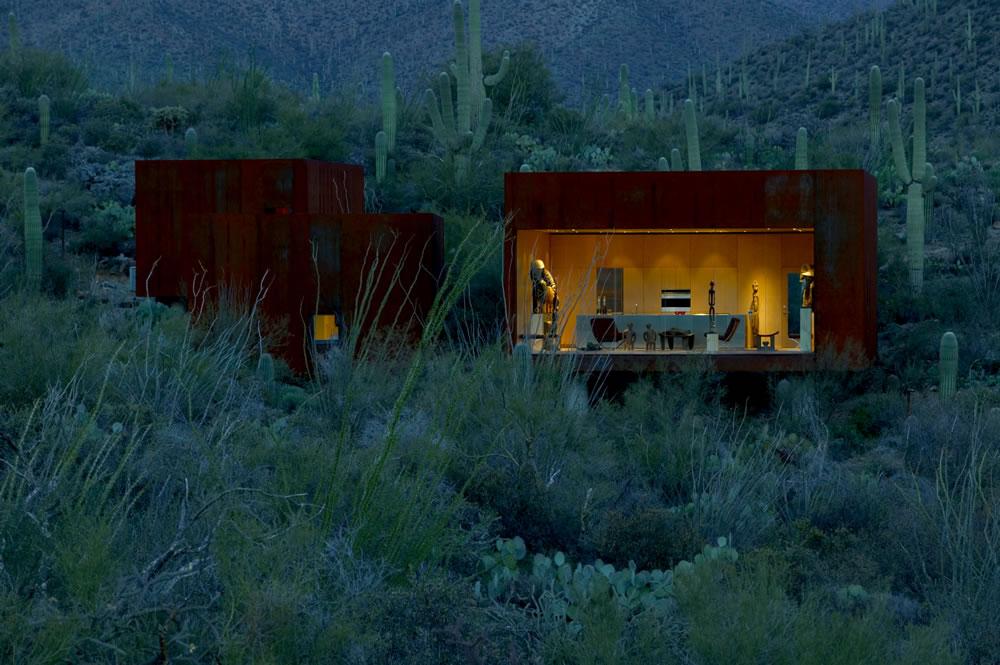 Desert Nomad House mmory] desert nomad house-arizona | rick joy