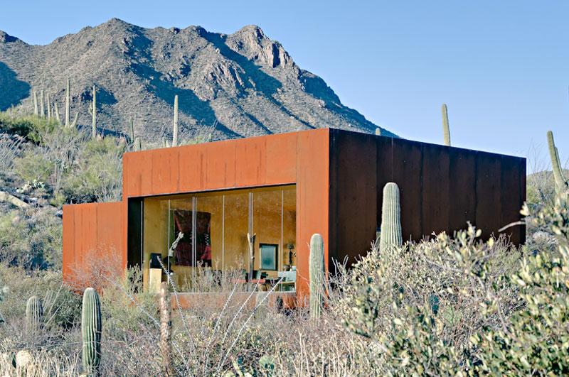 M memory desert nomad house arizona rick joy for Architecture nomade