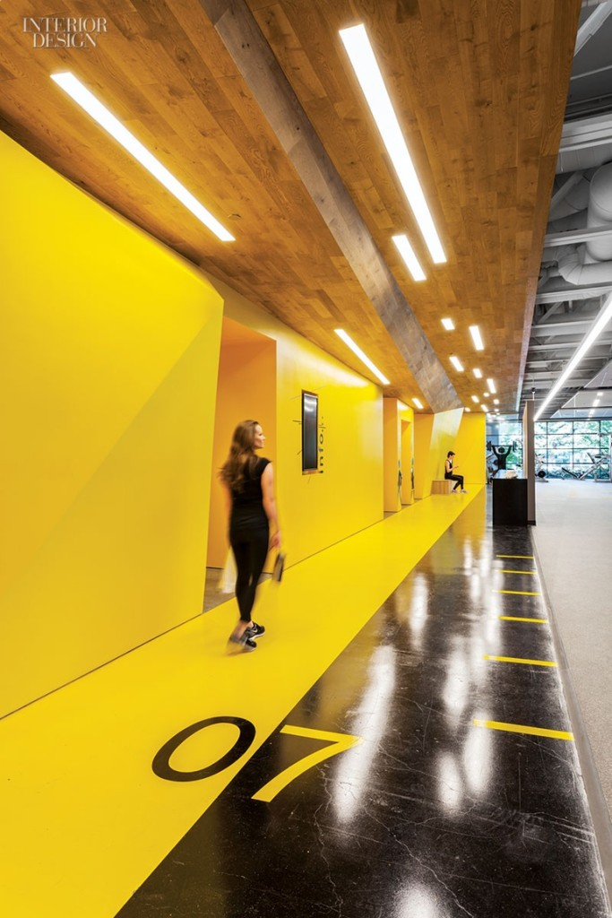 San jose s fitness center for symantec gensler - Top interior design schools in california ...