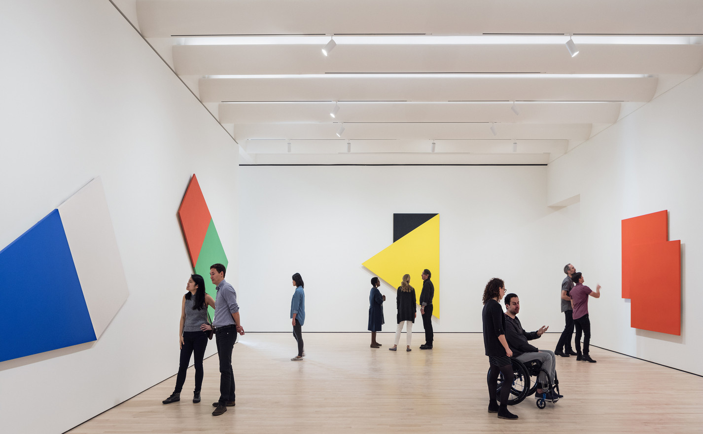 13._Approaching_American_Abstraction_The_Fisher_Collection_exhibition__photo_©_Iwan_Baan__courtesy_SFMOMA