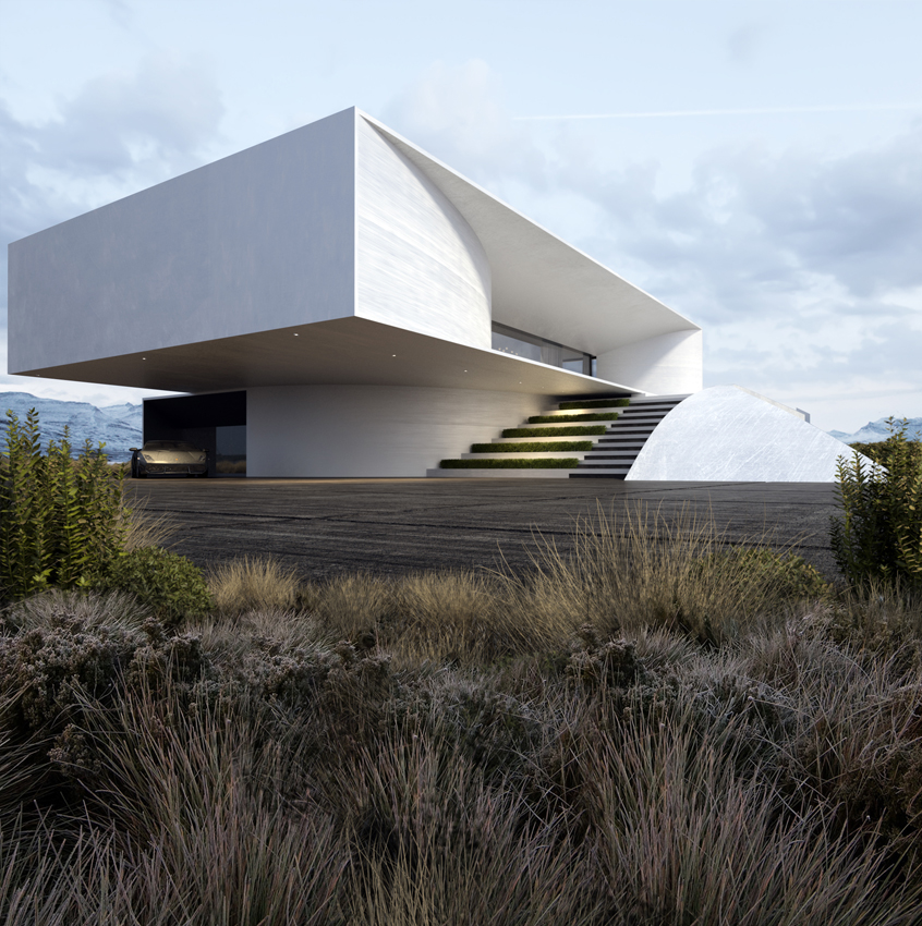 Project 47 roman vlasov for Modern house projects