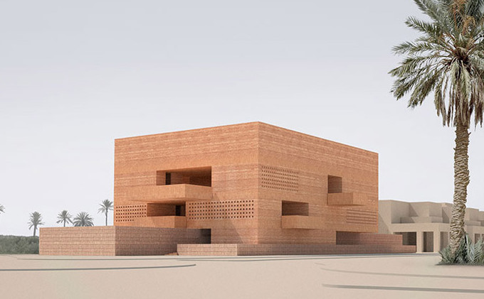 Photography Museum For Marrakech David Chipperfield