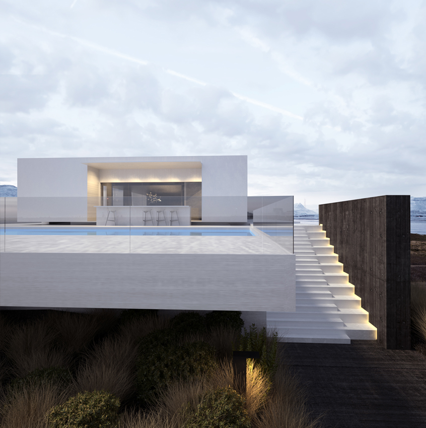 Project 47 roman vlasov for Project modern house