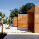 LaAlhambraInformationPoints-MartinezYSolerArquitectura-Granada-Spain-2002-Parklex-Facade-Copper-02