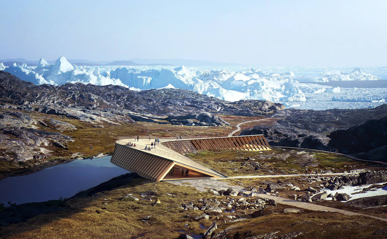 Viewing Pavilion at Greenland's Icefjord | Dorte Mandrup