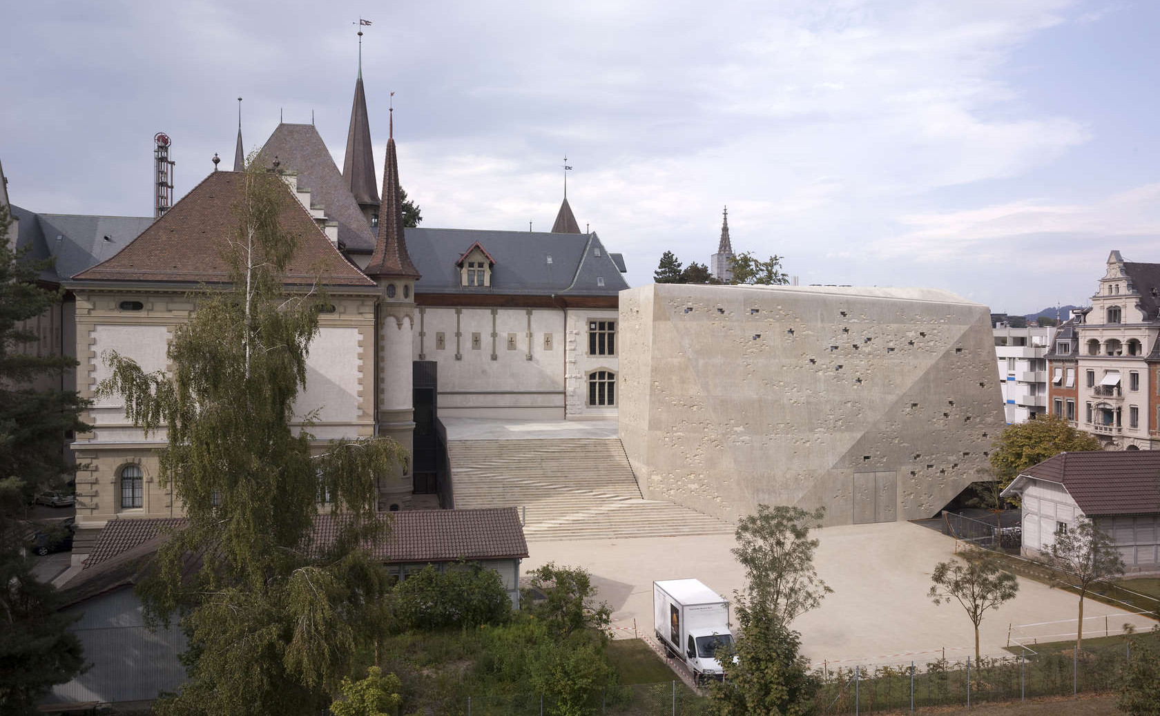 Extension to the Historisches Museum | MLZD
